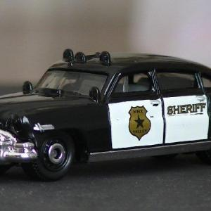 MATCHBOX:'51 HUDSON HORNET sheriff color