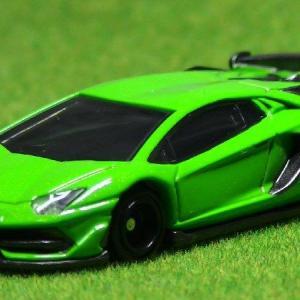トミカ:Lamborghini Aventador SVJ