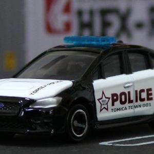 トミカ:トミカショップオリジナル スバル WRX S4 海外パトロールカー仕様