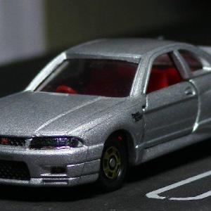 トミカファクトリー:No.1 日産 スカイライン GT-R(R33)シルバー