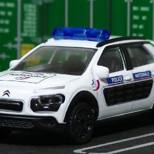Majorette:'20-08 #153 CITROEN C4 CACTUS (Police nationale)