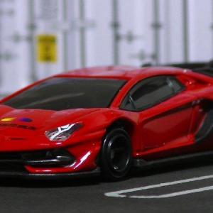 トミカ:LAMBORGHINI AVENTADOR SVJ (東京オートサロン 2021)