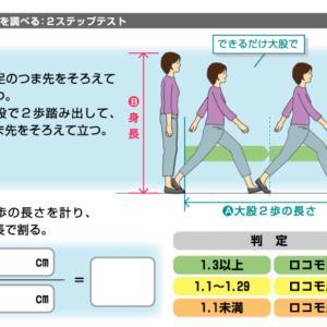 日本健康マスター検定に向けて 「ロコモを防ぎたい」(12)