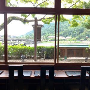 渡月橋を見ながらお蕎麦ランチ「嵐山よしむら」