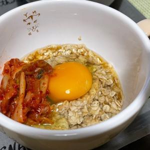 オートミールダイエット 超簡単レシピ 卵かけごはん!