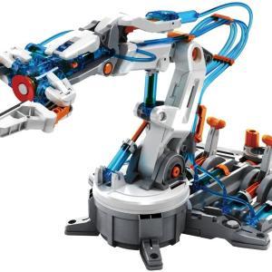 【お家で作ろう】電気不要の水圧式ロボットアームが楽しそう!