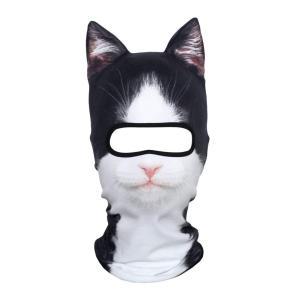 【スノボにぴったり】耳付き動物フェイスマスクが暖かそうかわいい!