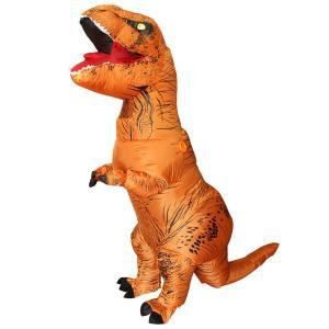 【T-rex】海外でやたら人気のティラノサウルスの着ぐるみ!エアーでふわふわ。