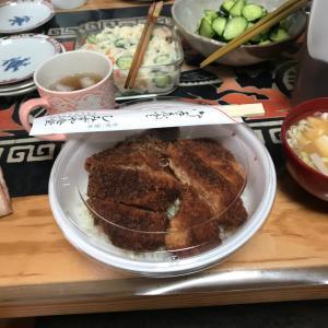 今日の昼メシ しみずや食堂のカツ丼