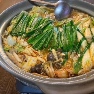 今日の夕飯 かあか特製キムチ鍋