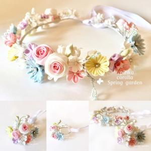 オーダーのご婚礼用*和装花冠。