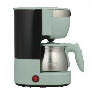 レトロデザインで美味しく楽しめるコーヒーメーカー