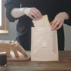 冷凍しても食パンのおいしさがかわらない保存袋