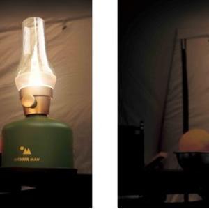 最大連続点灯時間256時間のLEDランタン