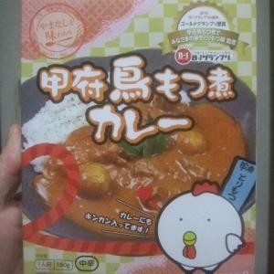 レトルトカレー「甲府鳥もつ煮カレー」