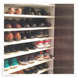 靴箱の整理収納ですっきり
