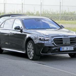 メルセデスAMG S63次期型、805馬力の電化モデルのみ発売か...その長~い新車名とは!?
