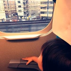 【2歳】次男の初めての新幹線と飛行機