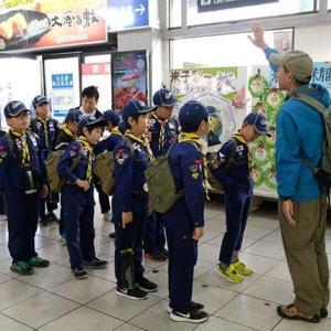 2019.11隊集会 松江城へGO!