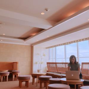 浜名湖舘山寺温泉でワーケーション「仕事とプライベートを行ったり来たりがマイスタイル」
