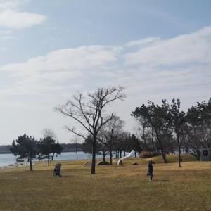 舞洲緑地~海が見える芝生広場と大型遊具・大阪市内でお手軽リゾート気分