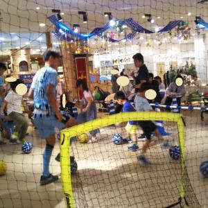 お手軽サッカー体験イベントに参加 ~夏の短期教室申し込みへ