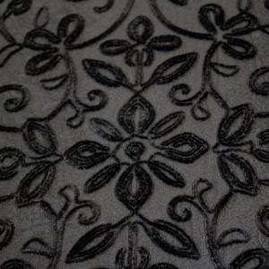 ベルベット刺繍のコート