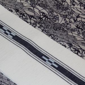 古今さんの綿絽長板小紋