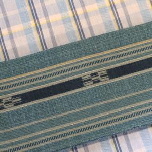 八重山みんさー半巾帯の新色