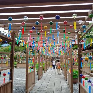 遠州三山風鈴祭り