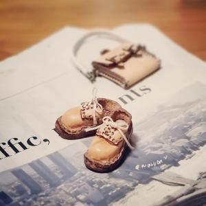 ミニチュア靴の試作♫