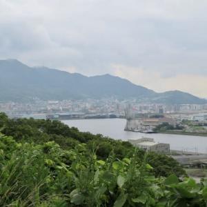洞海湾を望む新たな高台 都島展望公園