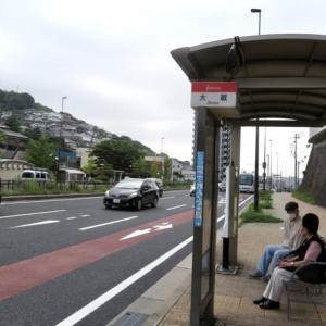 母校 八幡高等学校への道