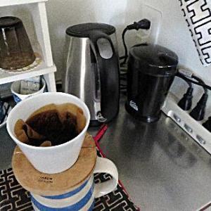 コーヒーミルを久しぶりに使う