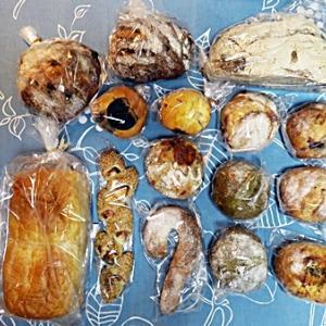 今月のパンとデザートタイム
