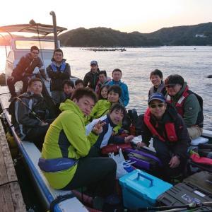 初心者海上釣堀大会を開催
