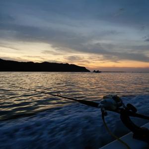 久々の中深海でオニカサゴ