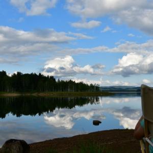 [夏旅2019]全方位が美しい朱鞠内湖@幌加内で新そば祭りキャンプ