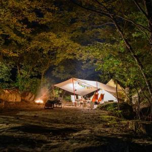 ゼルコバの焼きたてパンは絶品!南アルプス三景園で秋キャンプ