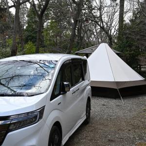 ミニバンに乗り換えたらキャンプがもっと手軽になった