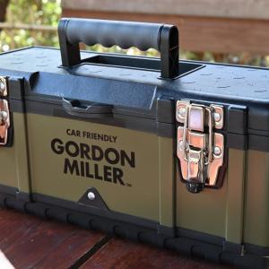 GORDON MILLERのツールボックス390がペグケースにピッタリ