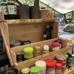調味料やコーヒーグッズはワーカーズオカモチに入れて持ち運ぶ