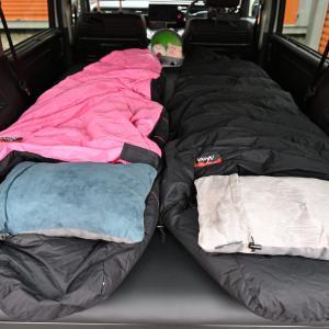 ベッドキットを組み立てて横になったら想像以上に快適すぎた