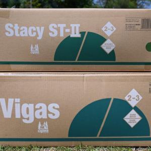 ogawaソロキャンプ用テント「ステイシー」と「ヴィガス」を比較