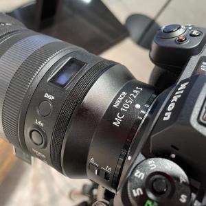 ニコンプラザ東京で点検がてら話題の新型レンズを試し撮り