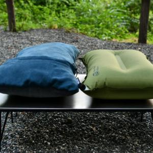 寝心地良好!サーマレストのピローとマットでキャンプに快眠を