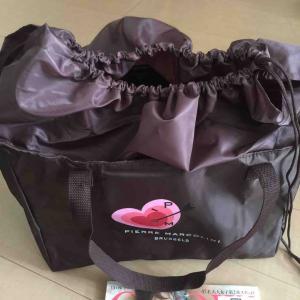 [雑誌付録]レジカゴサイズのショッピングバッグとバレンタインチョコ