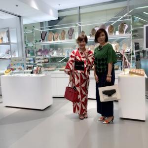 そごう横浜店でお打合せ☆ステージアップしたい女性起業家さんを応援するプロジェクト♪