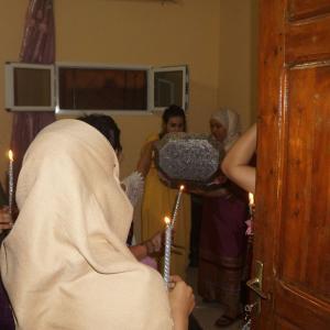 チュニジアの結婚式⑥ヘンナ