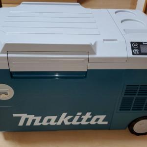 マキタ 充電式保冷温庫CW180DZをテストする^^
